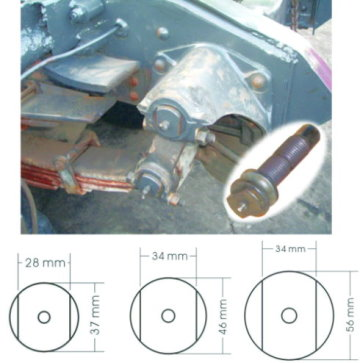 E39//E46//E60//E61//E81//E83//E90//E91 BMW Crankshaft Harmonic Balance Holder KIT