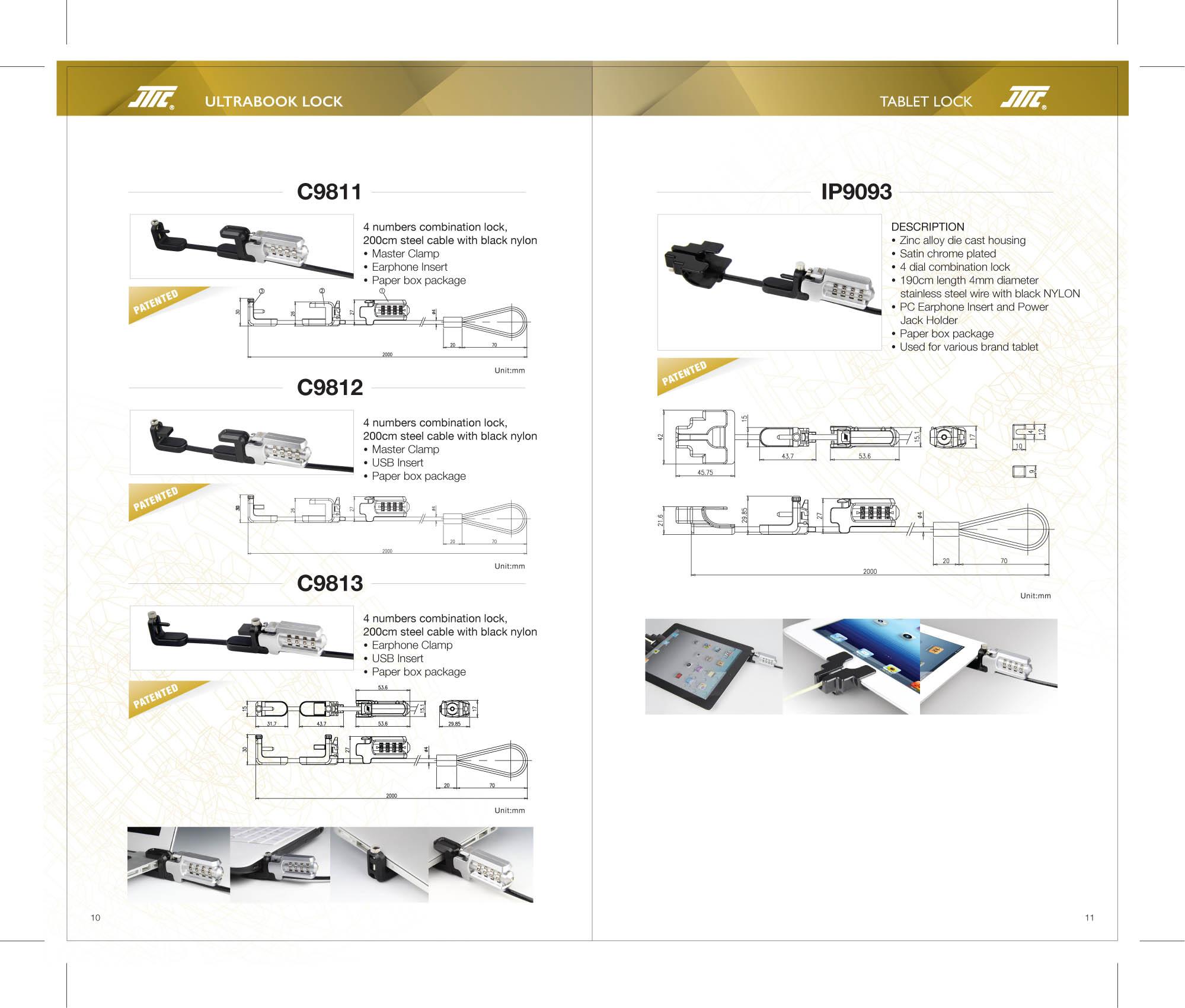 Taiwan Notebook Lock Jin Tay Industries Co Ltd Taiwantradecom Laptop Power Jack Wiring Diagram For 3c P10026mb