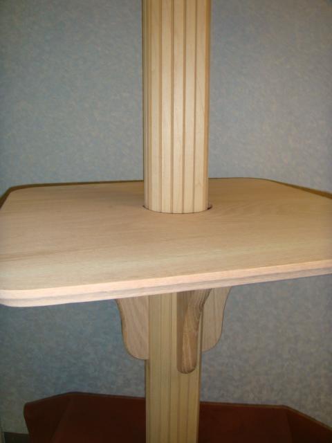 Taiwan Column Drink Shelf Table Set In Diy Wooden Shelf