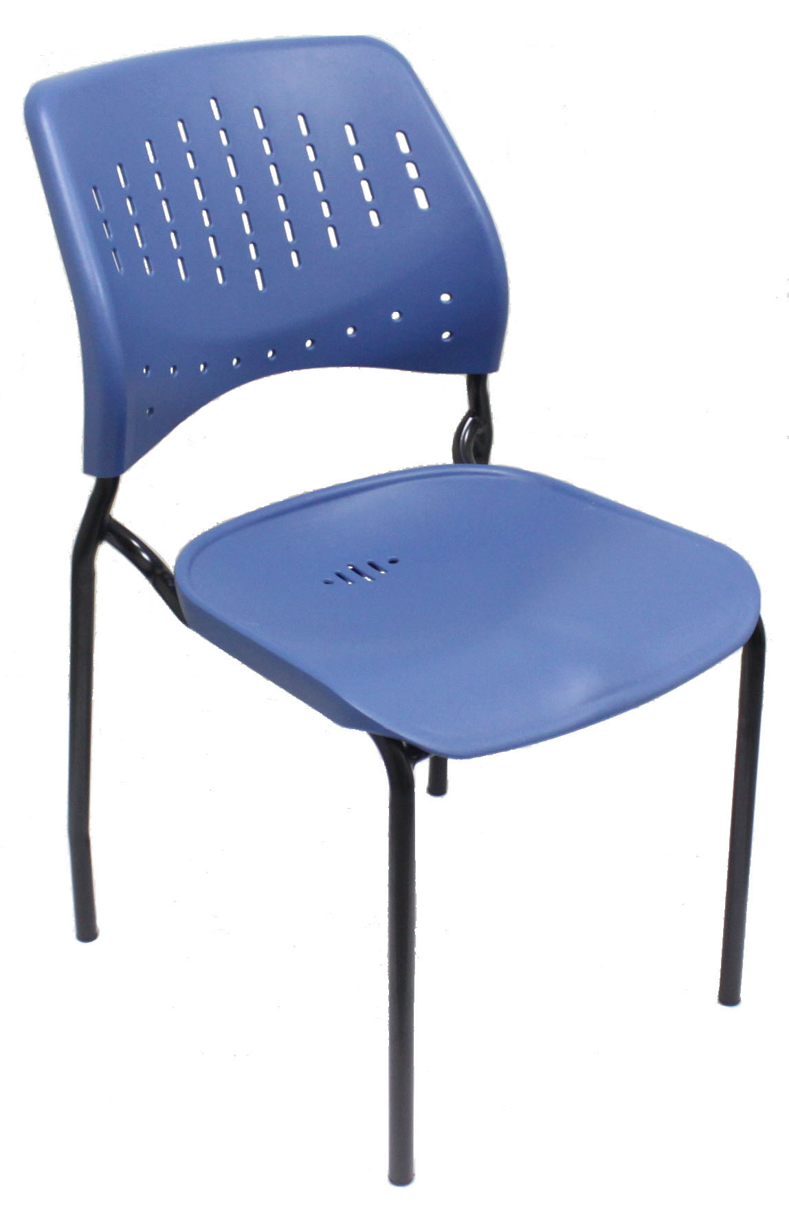 Plastic Chair Stackable Chair Painting 4 Legs
