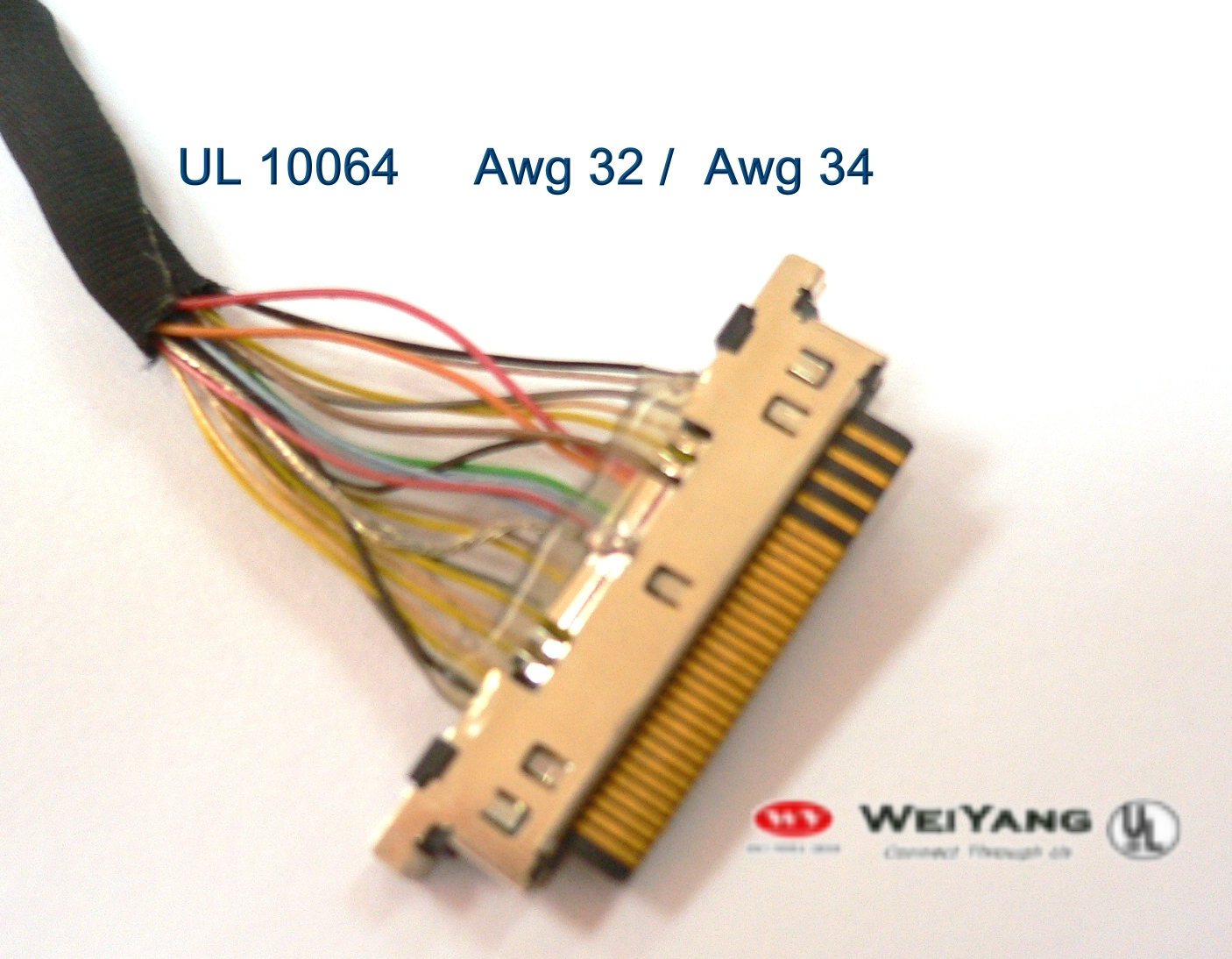0ffcbca5-6748-4cee-9e82-e645823a4232_LVDS Ul Wire Harness on wire leads, wire clothing, wire ball, wire connector, wire nut, wire cap, wire sleeve, wire antenna, wire holder, wire lamp,