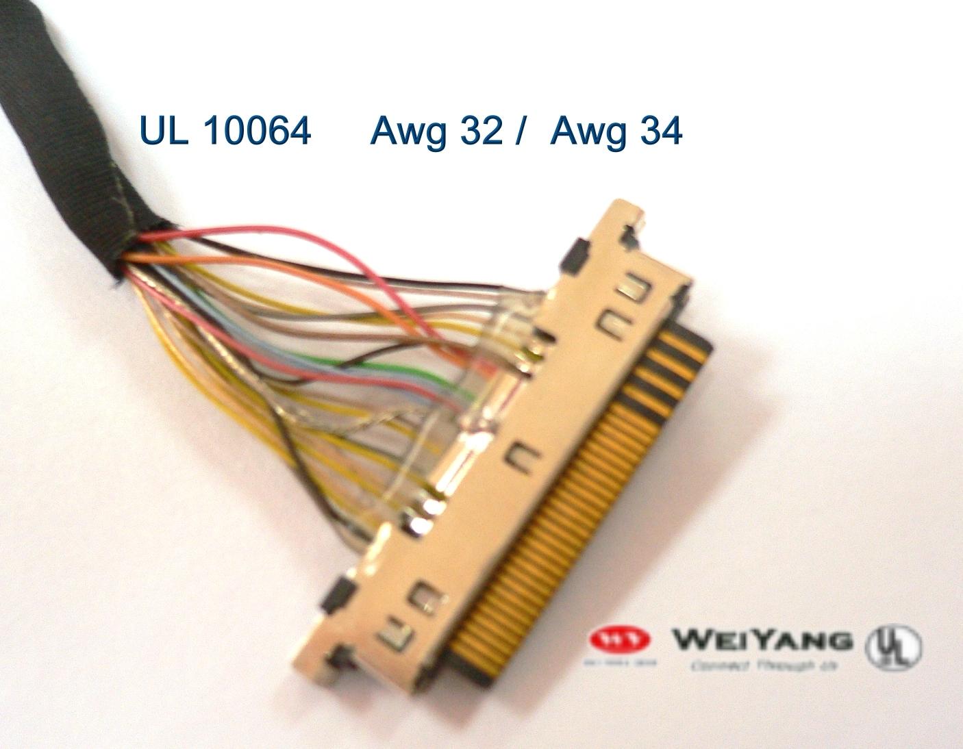 Taiwan UL10064 awg 32,awg34 Heat-proof Teflon Fep High Temperature ...