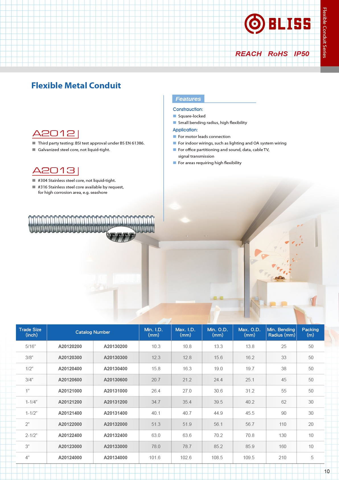 Taiwan Galvanized Steel Electrical Flexible Conduit Bliss Yih For Wire Buy Metal Liquid Light P10 A2012 A20071mb