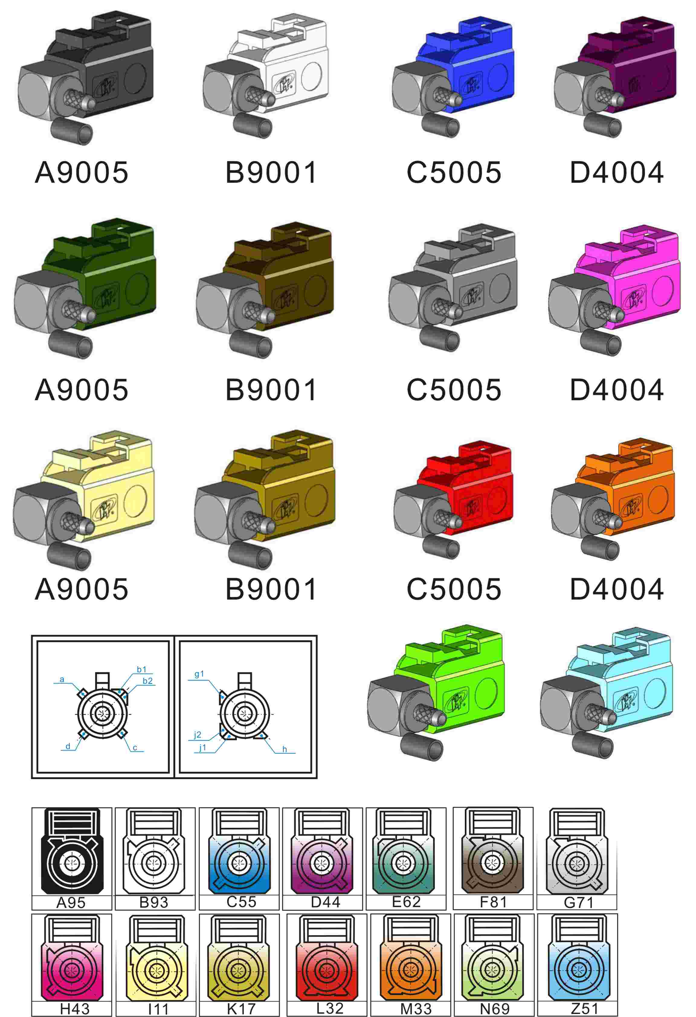 Progressive Die also Electricalconnectors X in addition  further A F D D E E E E E C C Fakra together with Sets Mm Way Automotive Motorcycle Electrical Connector Kits Male Female Wire Terminal Socket Plug. on automotive electrical connectors