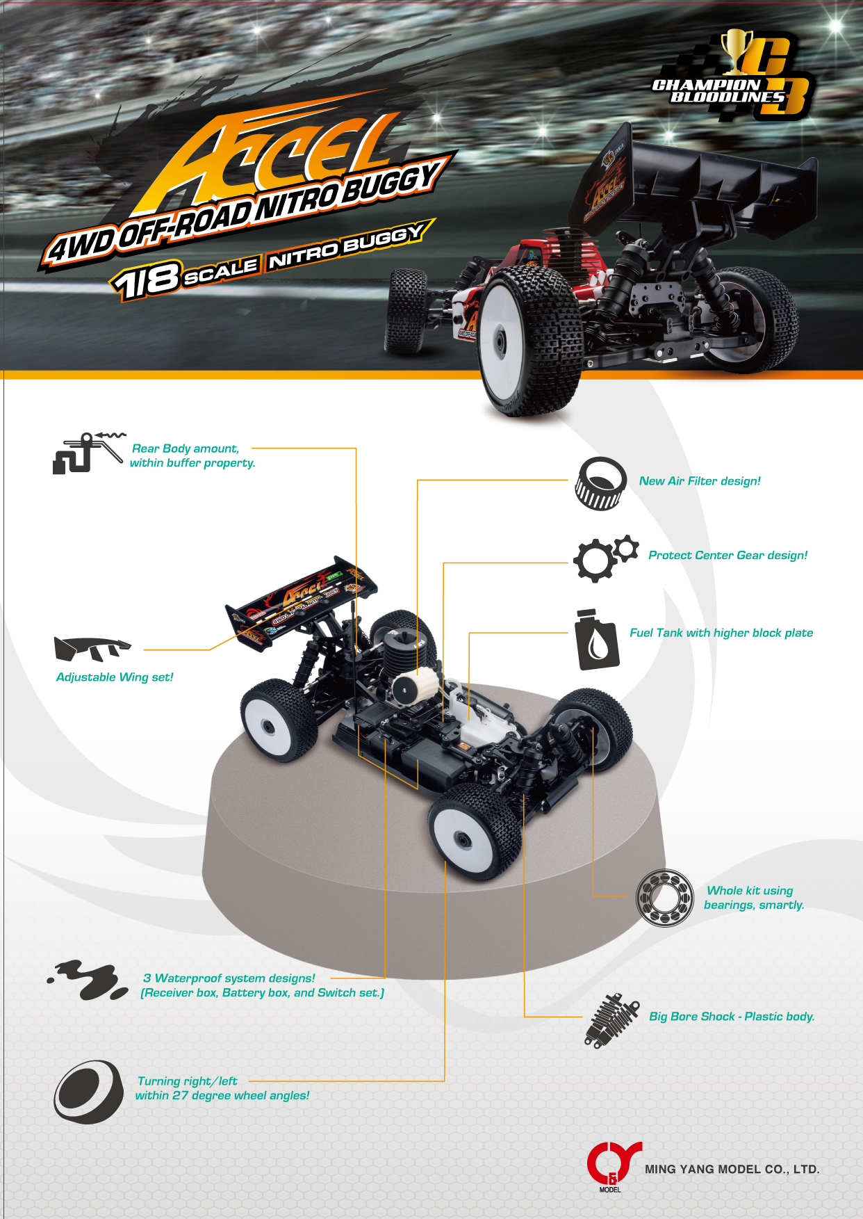 Taiwan ACCEL RC Car, Friction, Radio Control and Wind up Toys | MING
