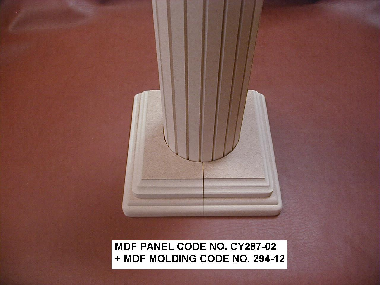 Heavy Molding Fiberboard : Taiwan mdf molding and panel building material pole
