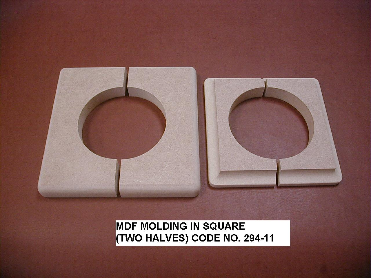 Taiwan mdf molding and panel building material pole for Mdf square columns