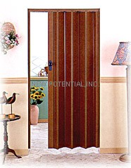 Taiwan Pvc Folding Doors Plastic Doors Partition Doors